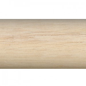 Highland Timber 2 1/4 Plain Wood Pole 6 foot Length