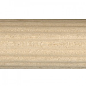 Highland Timber 2 1/4 Reeded Wood Pole 8 foot Length