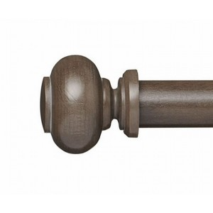 "Lyla Finial for 1 3/8"" Curtain Rod ~ Pair"