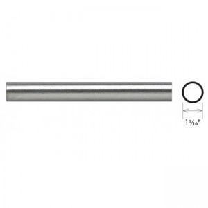 "1 1/16"" Steel Round Heavy Walled Tubing"